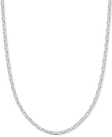"Mariner Link 18"" Chain Necklace in Sterling Silver, Created for Macy's"