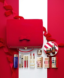 Limited Edition. Estée Lauder 33 Beauty Essentials for the Price of One - Only $75 with any Estée Lauder Purchase. A $455 Value!