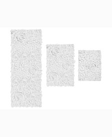 Bellflower Bath Rug, 3 Piece Set