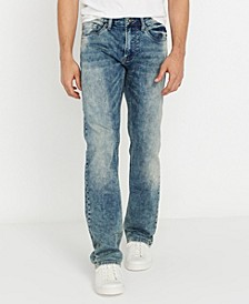 Evan-X Men's Slim Straight Denim Jeans