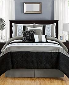 CLOSEOUT! Midtown 7-Pc. Full Comforter Set