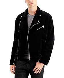 INC Men's Denim Moto Jacket, Created for Macy's