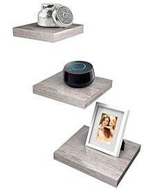 Wood 3-Pc. Tile Shelf's