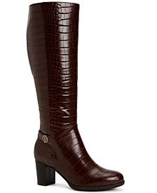 Adonnys Memory-Foam Dress Boots, Created for Macy's
