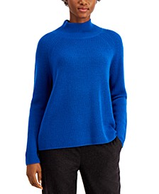 Solid Raglan Turtleneck Top