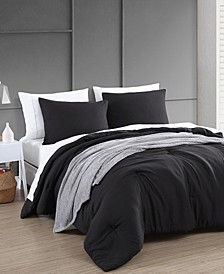 House Anniston Enzyme 8 Piece Comforter Set with Throw, King