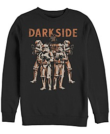 Star Wars Standing Room Only Men's Long Sleeve Fleece Crew Neck Sweater