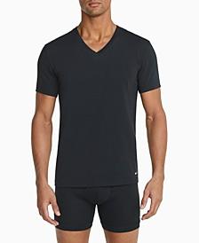 Men's 2-Pack Everyday Cotton Stretch V-Neck Undershirts