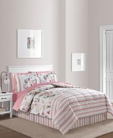 Irene 6-Pc. Reversible Twin Comforter Set