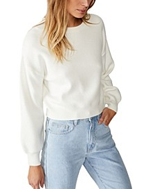 Chloe Crew Luxe Pullover