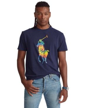 Polo Ralph Lauren Men's Classic-Fit Pony Graphic T-Shirt