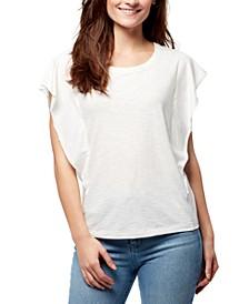 Freya Flutter-Sleeve T-Shirt