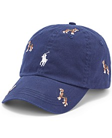 Men's Embroidered Wagon Chino Cap