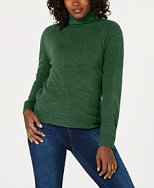 Petite Solid Luxsoft Turtleneck, Created for Macy's