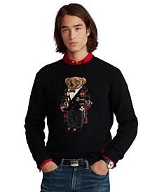 Men's Duffel Polo Bear Sweater