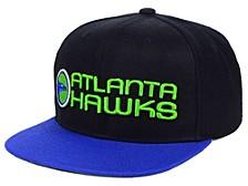 Atlanta Hawks 2 Tone Classic Snapback Cap