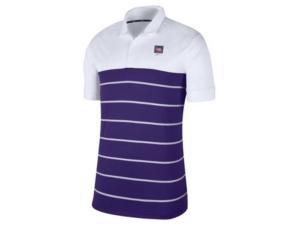 Nike Lsu Tigers Men's Striped Polo