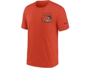 Nike Cleveland Browns Men's Dri-Fit Cotton Facility T-shirt