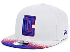 Los Angeles Clippers Summer Splatter Snapback Cap