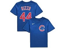 Chicago Cubs Youth Name and Number Player T-Shirt Anthony Rizzo
