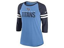 Tennessee Titans Women's Three Quarter Sleeve Raglan Shirt
