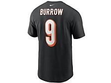 Cincinnati Bengals Men's Pride Name and Number Wordmark 3.0 Player T-shirt Joe Burrow