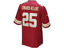 Men's Kansas City Chiefs Game Jersey Clyde Edwards-Helaire