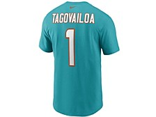 Miami Dolphins Men's Pride Name and Number Wordmark 3.0 Player T-shirt Tua Tagovailoa