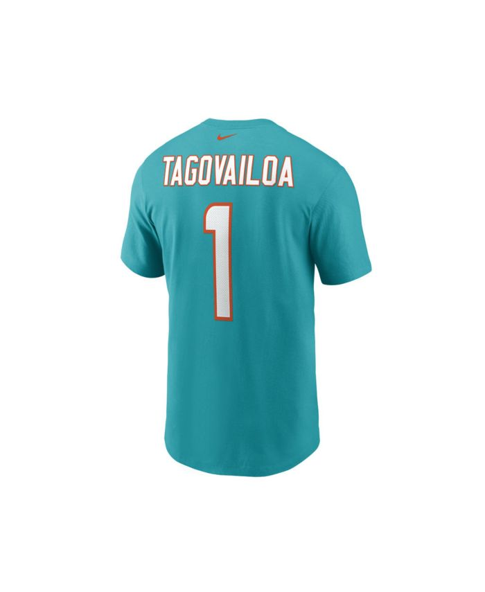 Nike Miami Dolphins Men's Pride Name and Number Wordmark 3.0 Player T-shirt Tua Tagovailoa & Reviews - Sports Fan Shop By Lids - Men - Macy's