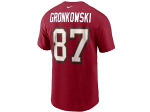 Nike Tampa Bay Buccaneers Men's Pride Name and Number Wordmark 3.0 Player T-shirt Rob Gronkowski