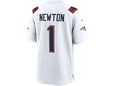 New England Patriots Cam Newton Men's Game Jersey