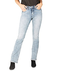 Avery High-Rise Slim Bootcut Jeans