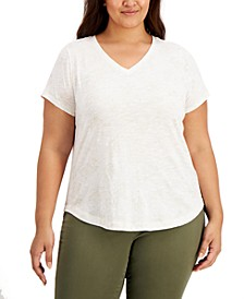 Plus Size Constellation T-Shirt, Created for Macy's