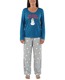 Matching Women's Holiday Merry Sithmas Family Pajama Set