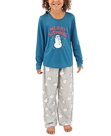 Matching Kids Holiday Merry Sithmas Family Pajama Set