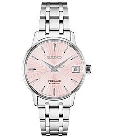 Women's Automatic Presage Stainless Steel Bracelet Watch 29mm