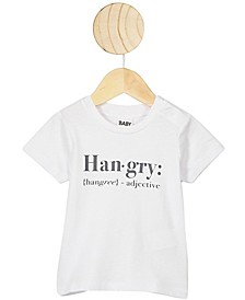 Baby Boys and Girls Jamie Short Sleeve T-Shirt