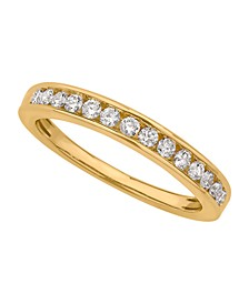 Certified Diamond Channel Band 1/4 ct. t.w. in 14k White or Yellow Gold