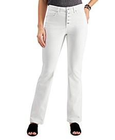 Button-Fly Bootcut Jeans, Created for Macy's