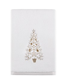 "Holiday Tree 27"" x 50"" Bath Towel, Created for Macy's"