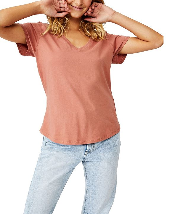 COTTON ON Women's The One Fitted V Tee