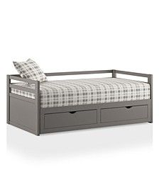 Prynceton Expandable Sleeper 2 Piece Daybed with Trundle, Twin