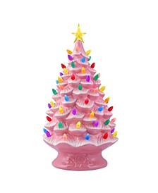 Lit Nostalgic Christmas Tree 24""