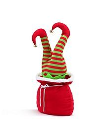 "10"" Mini Animated Christmas Kickers in Bag- Elf"