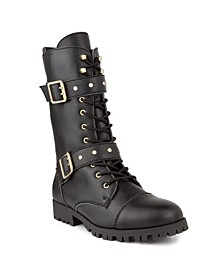 Women's Squad Tall Combat Boots