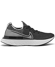Women's React Infinity Run Flyknit Running Sneakers from Finish Line