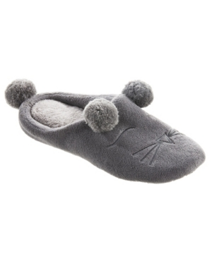 Women's Microterry Critter Hoodback Slippers