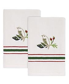 Dena Home Evergreen Fingertip Towels, 2 Piece