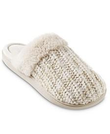 Women's Sweater Knit Sheila Clog Slippers