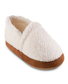 Isotoner Signature Women's Sherpa Moccasin Eco Comfort Slippers